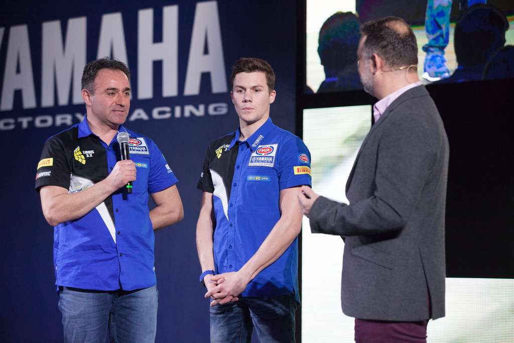 Presentazione Pata Yamaha Official Stock Team 2017